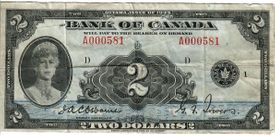 1935 $2 scan